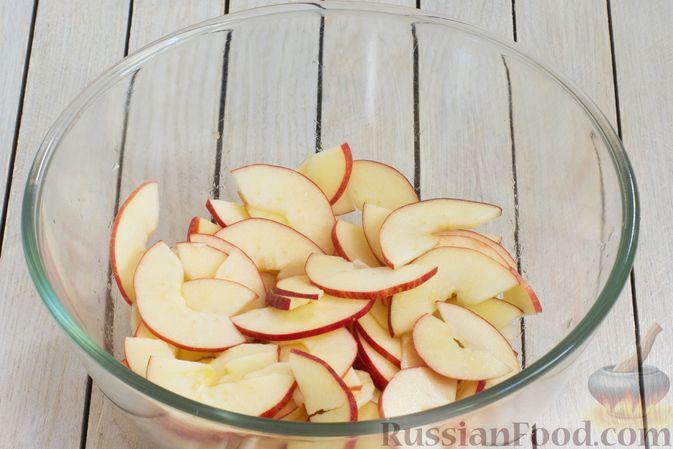 Фото приготовления рецепта: Тарт из песочного теста с яблоками - шаг №16