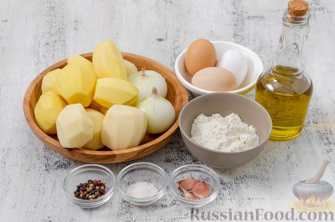 Фото приготовления рецепта: Картофельный кугель - шаг №1