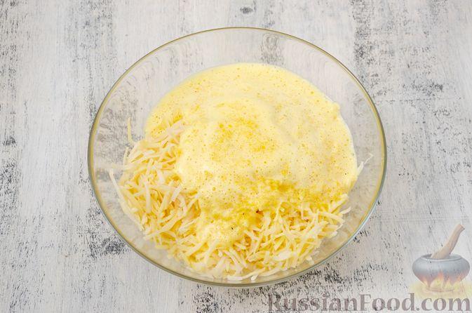 Фото приготовления рецепта: Картофельный кугель - шаг №10