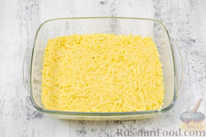 Фото приготовления рецепта: Картофельный кугель - шаг №13