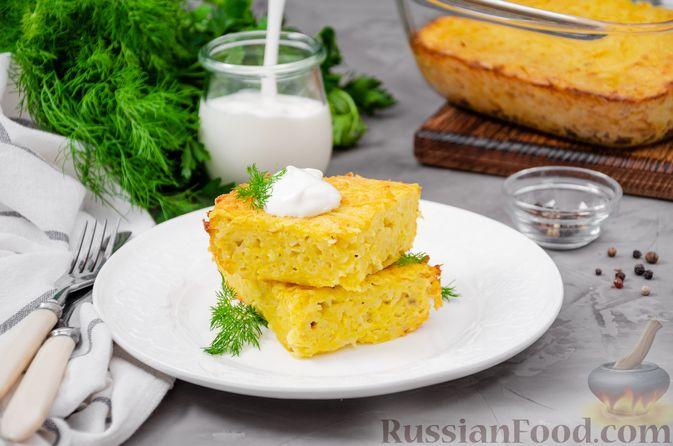 Фото приготовления рецепта: Картофельный кугель - шаг №16