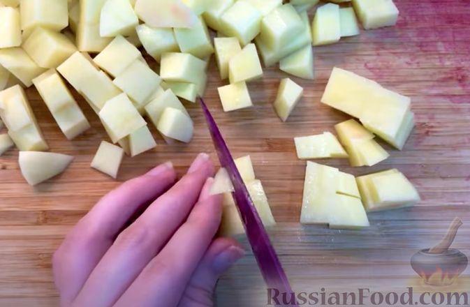 Фото приготовления рецепта: Борщ из говядины (со сливочным маслом и уксусом) - шаг №10
