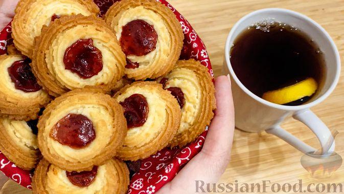 """Фото к рецепту: Печенье """"Курабье"""""""