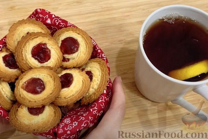 """Фото приготовления рецепта: Печенье """"Курабье"""" - шаг №6"""