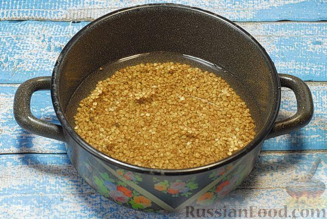 Фото приготовления рецепта: Бефстроганов с гречкой и лисичками - шаг №2
