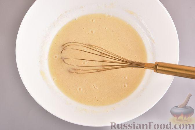 Фото приготовления рецепта: Постный шоколадный манник - шаг №3