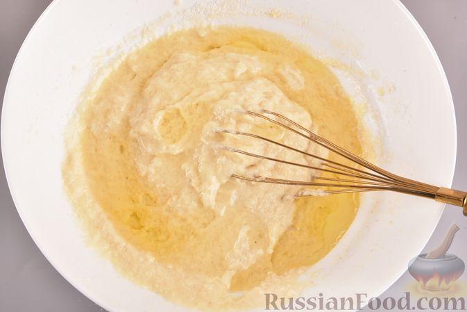 Фото приготовления рецепта: Постный шоколадный манник - шаг №5