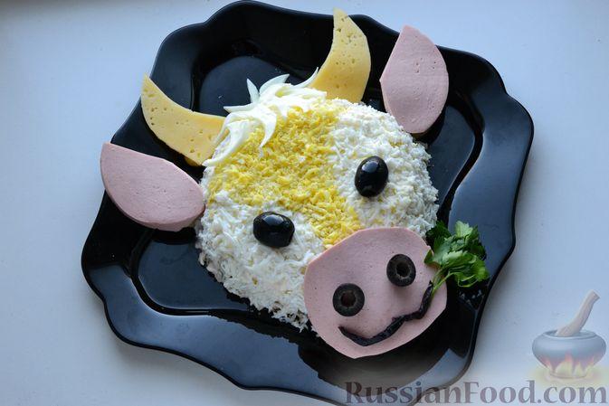 Фото приготовления рецепта: Дрожжевые пирожки-мешочки с картофелем, курицей и сыром - шаг №10
