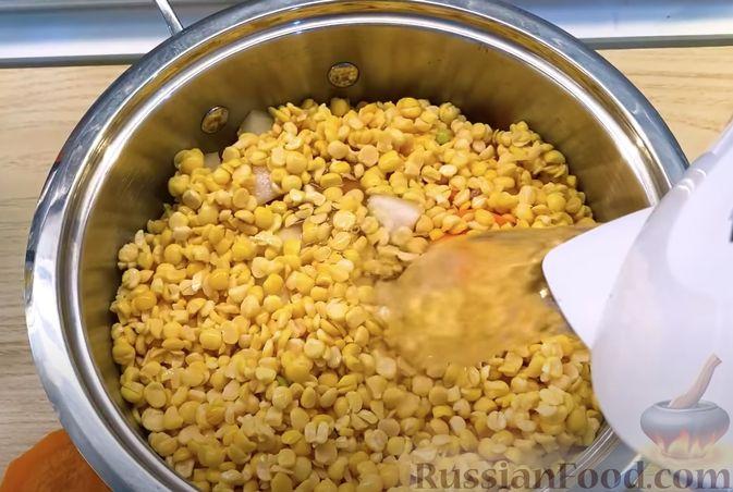 Фото приготовления рецепта: Гороховый суп-пюре - шаг №6