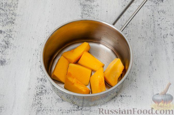 Фото приготовления рецепта: Эклеры с заварным тыквенным кремом и пряностями - шаг №2