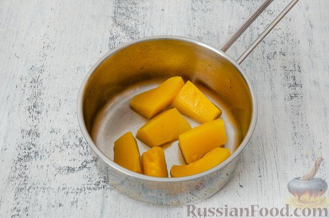 Фото приготовления рецепта: Эклеры с заварным тыквенным кремом и пряностями - шаг №3