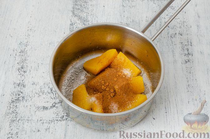 Фото приготовления рецепта: Эклеры с заварным тыквенным кремом и пряностями - шаг №4