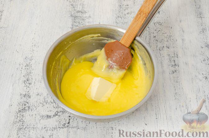 Фото приготовления рецепта: Эклеры с заварным тыквенным кремом и пряностями - шаг №12