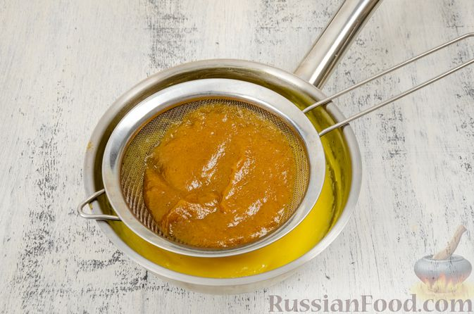 Фото приготовления рецепта: Эклеры с заварным тыквенным кремом и пряностями - шаг №13