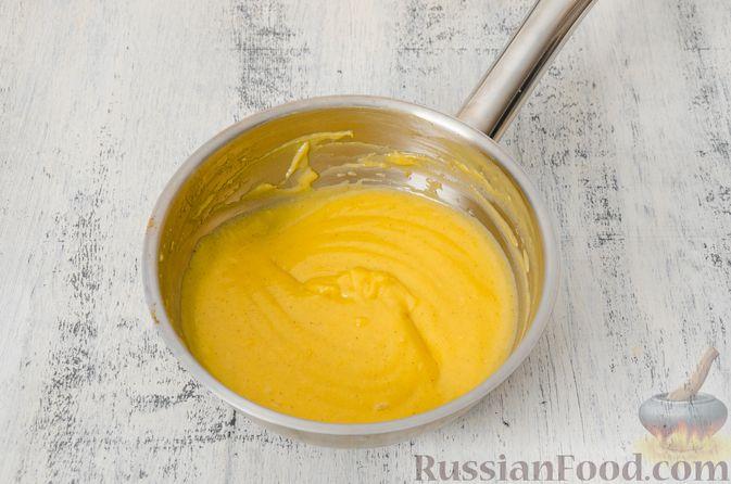 Фото приготовления рецепта: Эклеры с заварным тыквенным кремом и пряностями - шаг №14