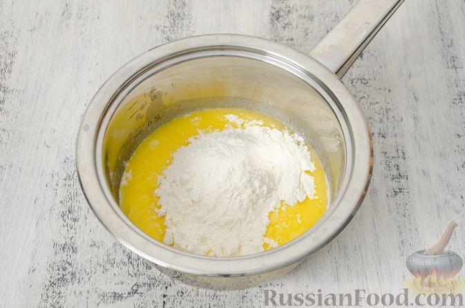 Фото приготовления рецепта: Эклеры с заварным тыквенным кремом и пряностями - шаг №18