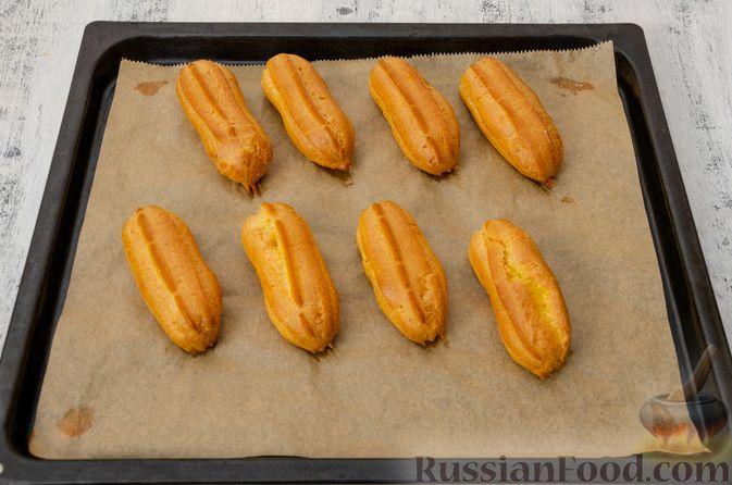 Фото приготовления рецепта: Эклеры с заварным тыквенным кремом и пряностями - шаг №24