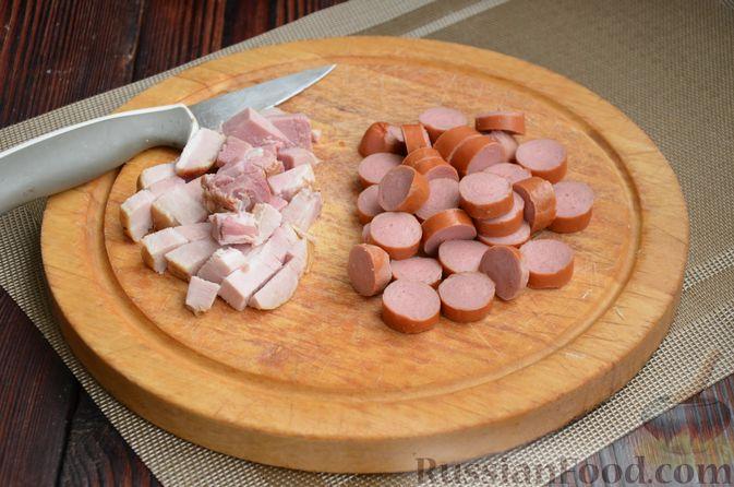 Фото приготовления рецепта: Борщ московский - шаг №3