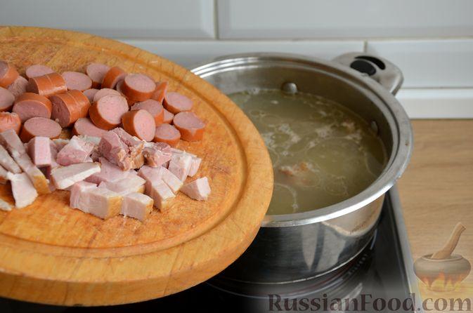 Фото приготовления рецепта: Борщ московский - шаг №4