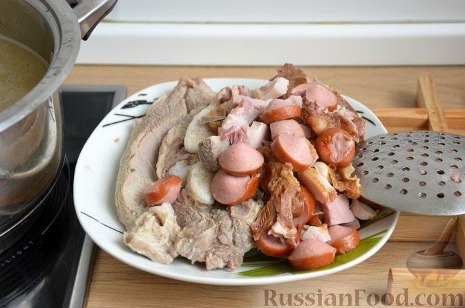 Фото приготовления рецепта: Борщ московский - шаг №5