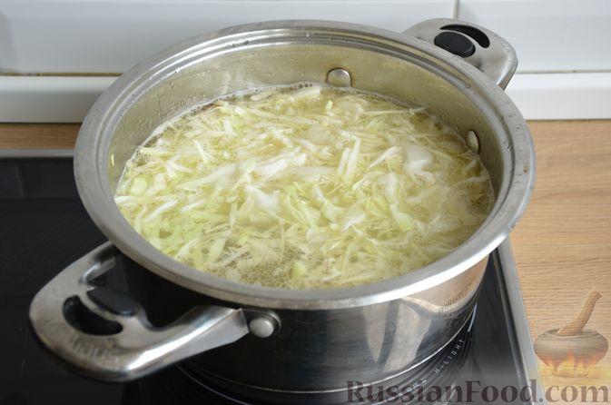 Фото приготовления рецепта: Борщ московский - шаг №11