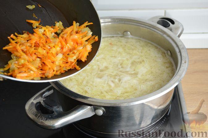 Фото приготовления рецепта: Борщ московский - шаг №12