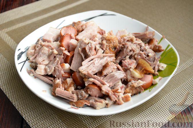 Фото приготовления рецепта: Борщ московский - шаг №16