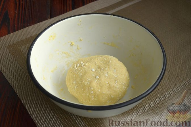 Фото приготовления рецепта: Творожный тарт с творогом - шаг №3