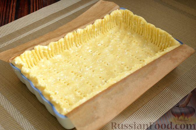 Фото приготовления рецепта: Творожный тарт с творогом - шаг №4