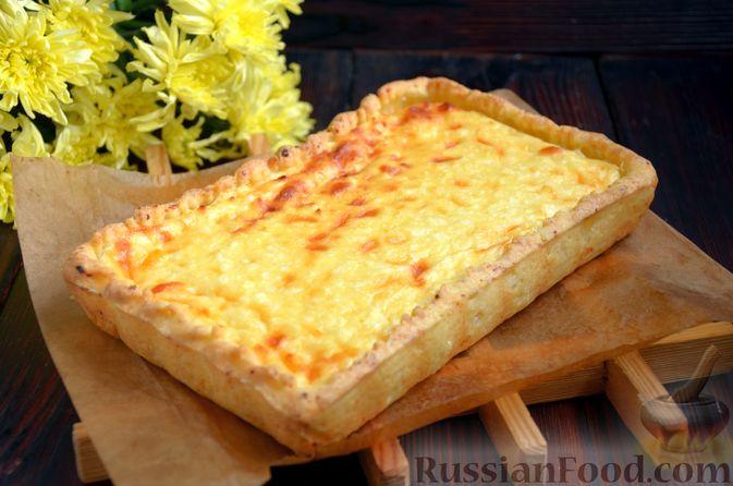 Фото приготовления рецепта: Творожный тарт с творогом - шаг №10