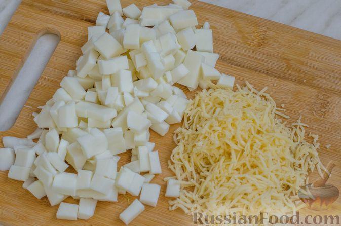 Фото приготовления рецепта: Ризотто с кабачками и сельдереем - шаг №17