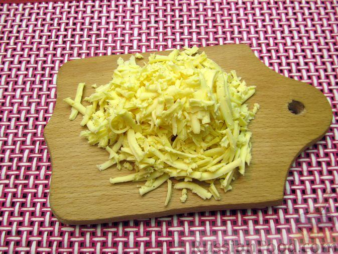 Фото приготовления рецепта: Тыквенные крокеты с морковью и сыром (в духовке) - шаг №9