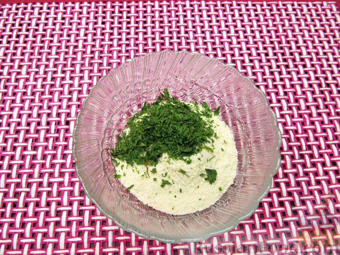 Фото приготовления рецепта: Тыквенные крокеты с морковью и сыром (в духовке) - шаг №13