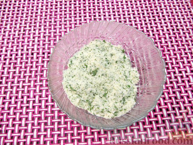 Фото приготовления рецепта: Тыквенные крокеты с морковью и сыром (в духовке) - шаг №14