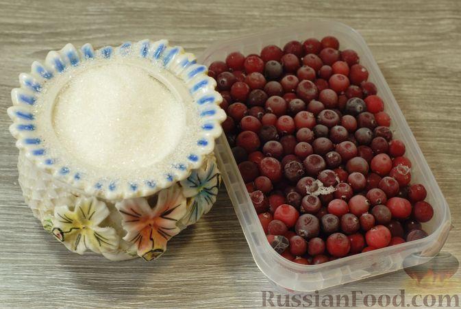 Фото приготовления рецепта: Клюквенный джем (на зиму) - шаг №1