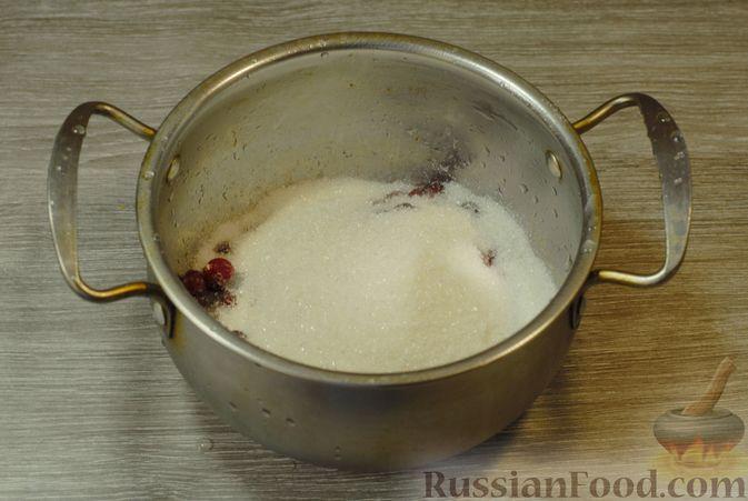 Фото приготовления рецепта: Клюквенный джем (на зиму) - шаг №3
