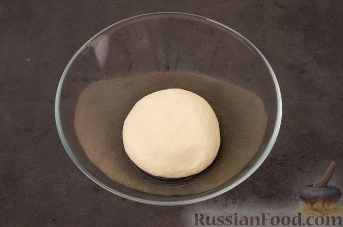 Фото приготовления рецепта: Кутабы с начинкой из творога и зелени - шаг №6