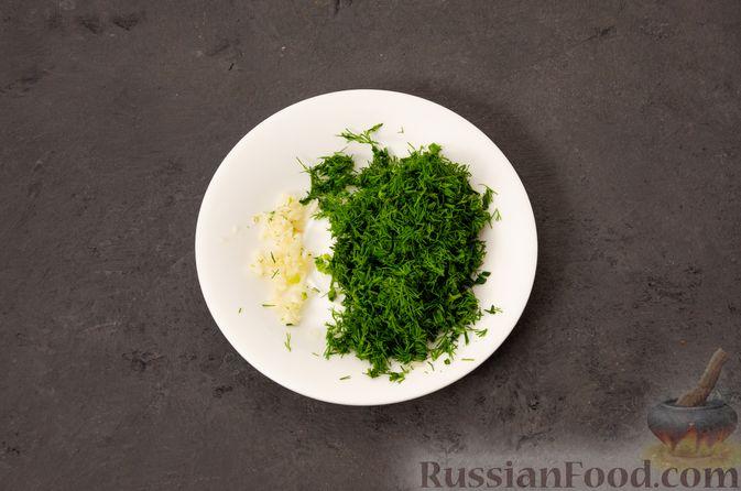Фото приготовления рецепта: Суп с фрикадельками и яичной заправкой - шаг №11