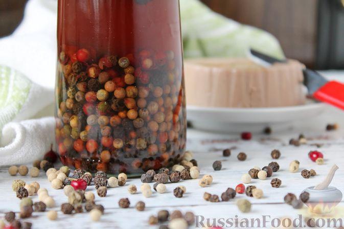 Фото приготовления рецепта: Консервированный перец горошком - шаг №11