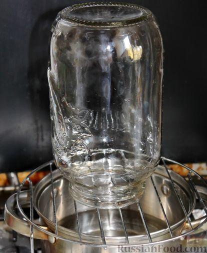 Фото приготовления рецепта: Компот из айвы с лимоном, на зиму - шаг №2