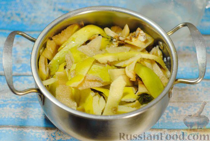 Фото приготовления рецепта: Варенье из айвы с апельсином - шаг №3