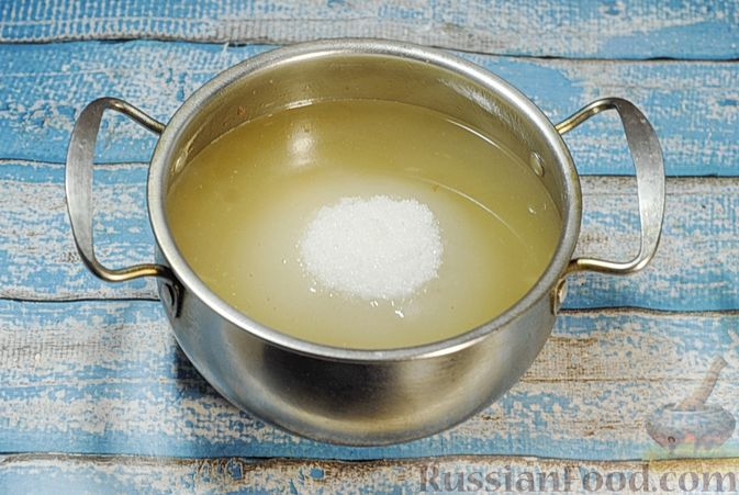 Фото приготовления рецепта: Варенье из айвы с апельсином - шаг №9