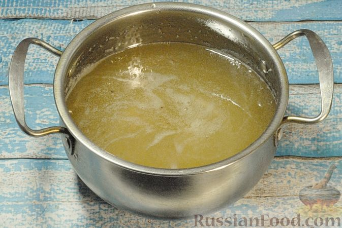 Фото приготовления рецепта: Варенье из айвы с апельсином - шаг №10