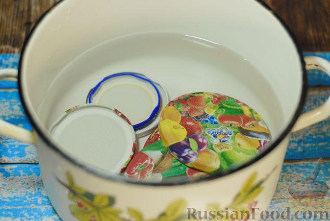 Фото приготовления рецепта: Варенье из айвы с апельсином - шаг №15