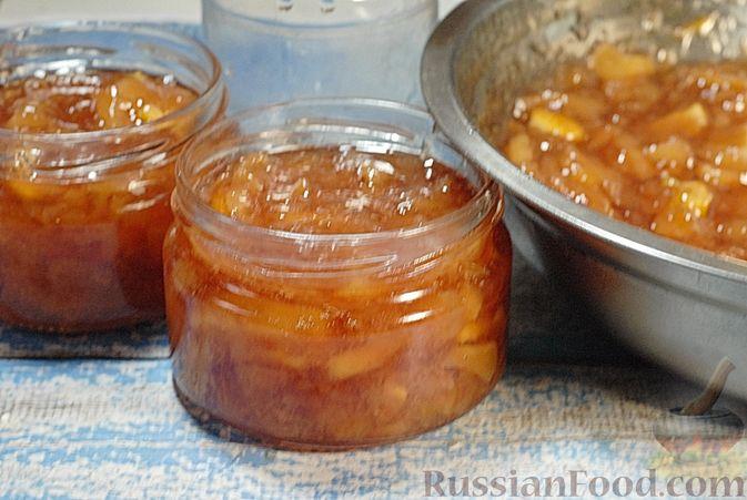 Фото приготовления рецепта: Варенье из айвы с апельсином - шаг №18