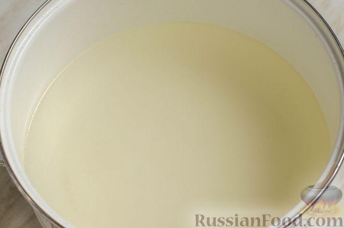 Фото приготовления рецепта: Суп на курином бульоне с домашней лапшой - шаг №14