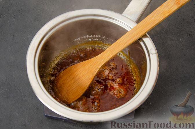 Фото приготовления рецепта: Карамельные пряники из заварного теста, с молочной глазурью - шаг №3