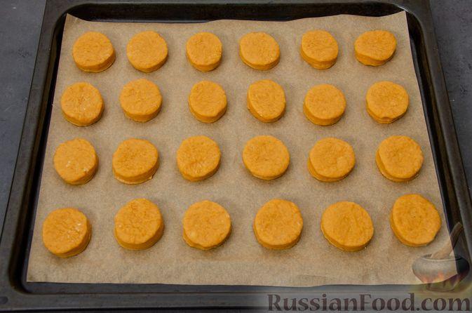 Фото приготовления рецепта: Карамельные пряники из заварного теста, с молочной глазурью - шаг №13