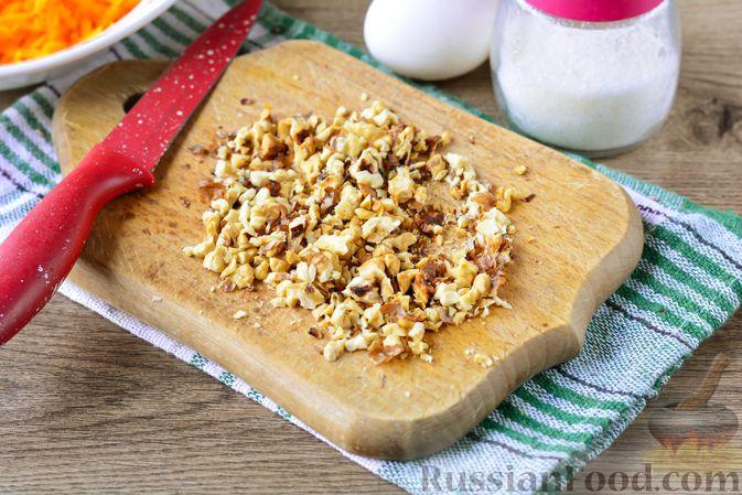 Фото приготовления рецепта: Слойки с тыквой и грецкими орехами - шаг №3