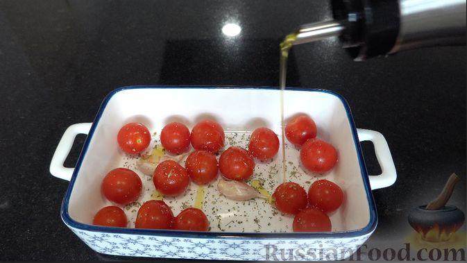 Фото приготовления рецепта: Полента с сыром, помидорами черри и зеленью - шаг №1